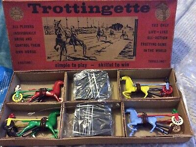 £135 • Buy Vintage Horse Racing Game.trottingette From The 1950s