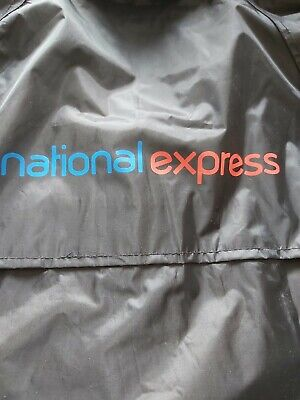 £4.99 • Buy NEW- National Express Coach Bus Hooded Waterproof Coat Size XL
