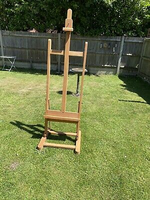 £100 • Buy Professional Mabef Artist Wooden Studio Standing Easel Painting Art Solid Beech