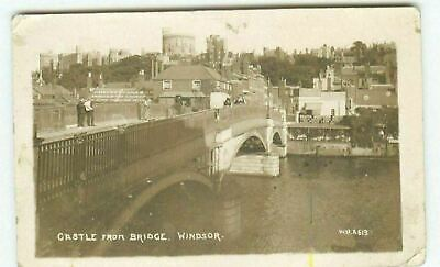 £4.49 • Buy Castle From Bridge Windsor RPPC Real Photo Posted 1919 Postcard CE
