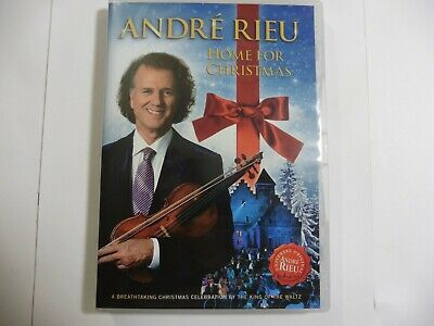 £4.99 • Buy Andre Rieu & The Johann Strauss Orchestra Home For Christmas DVD 2012