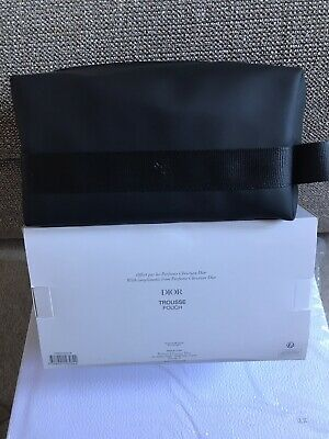 £15 • Buy Dior Pouch Beauty Wash Bag Travel Bee Logo 11-11-21cm Father's Day Gift