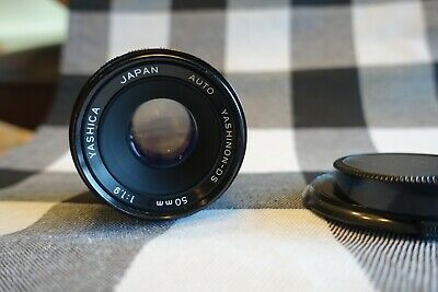 $29.50 • Buy Yashica 50mm 1:1.9 Auto Yashinon-DS M42 Pentax Screw Mount Lens With Lens Caps
