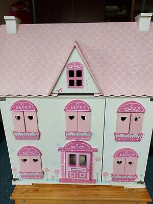 £45 • Buy ELC Rosebud Doll's House With Furniture & Accessories