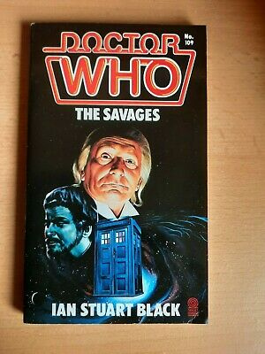 £2.99 • Buy Doctor WhoThe Savages By Ian Stuart Black Target Books 1986 1st Ed