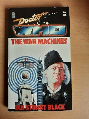 £2.99 • Buy Doctor WhoThe War Machines By Ian Stuart Black Target Books 1989 1st Ed