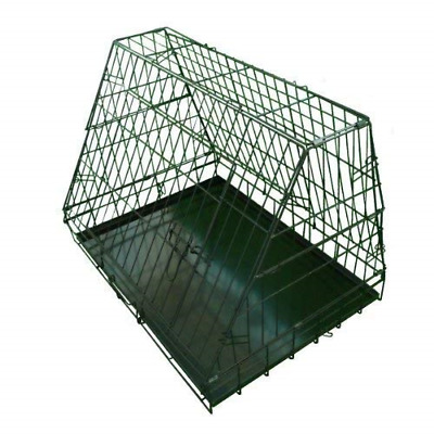 £49.52 • Buy Ellie-Bo Sloping Puppy Cage Medium 30 Inch Black Folding Dog Crate With Non-Chew