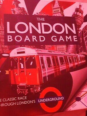 £3.50 • Buy The London Board Game - London Underground 2-6 Players - Ideal 2011 Low Starting