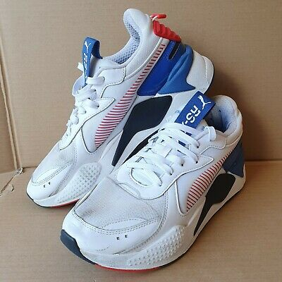 AU9.21 • Buy Puma RSX Mens Trainers UK Size 9 Used Worn Red / Blue / White