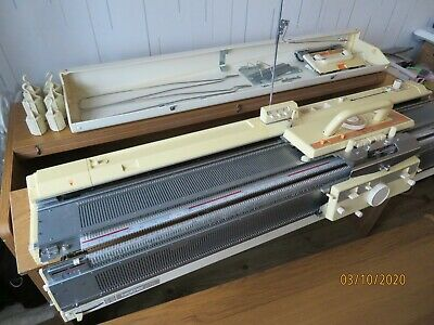 £269 • Buy Brother KH860 Knitting Machine With KR850 Ribber Attachment