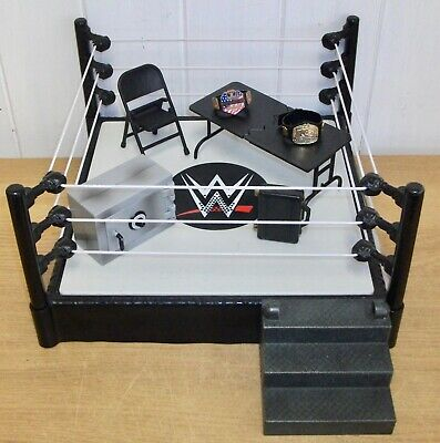 £32.99 • Buy WWE - Tough Talkers - Wrestling Ring & Accessories Set Inc. Breakable Table