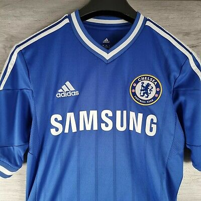 £21.99 • Buy Chelsea 2013-14 Authentic Home Shirt Small S Football Soccer Jersey Top Adidas