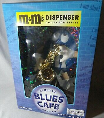 $19.99 • Buy Vintage M & M Blues Cafe Candy Dispenser. Never Removed From Box