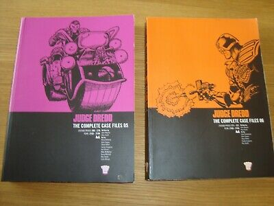 £4 • Buy Judge Dredd Case File 5 And 6 Job 2000ad Complete Collected Versions Scifi