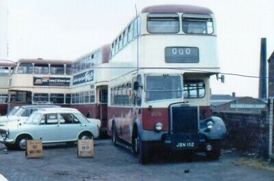 £1.15 • Buy Bolton Corporation Bus Photo 6576 On Photograph Leyland Pd2 Picture Jbn152.