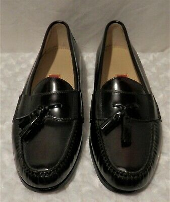 $34.99 • Buy Mens Black Cherry Cole Haan Tassle Loafers Dress Shoes Size 12
