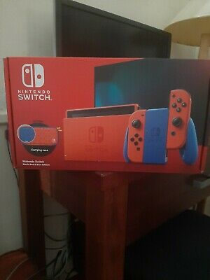 AU279 • Buy Nintendo Switch Mario Red & Blue Edition Console-FREE POSTAGE!! 24HR AUCTION