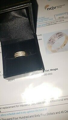 AU450 • Buy 9ct Gold And Diamond Ring