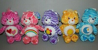 £65.14 • Buy Lot Of 5 Care Bears 9  Special Edition Jungle Party Series 9 Plush Bears 2005