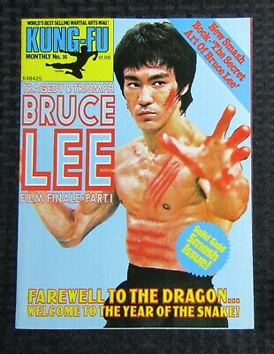 £14.67 • Buy 1970's KUNG-FU MONTHLY Poster Magazine #16 FVF 7.0 Bruce Lee Tragedy & Triumph