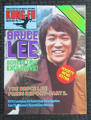 £14.67 • Buy 1970's KUNG-FU MONTHLY Poster Magazine #19 FVF 7.0 Bruce Lee Screen Test