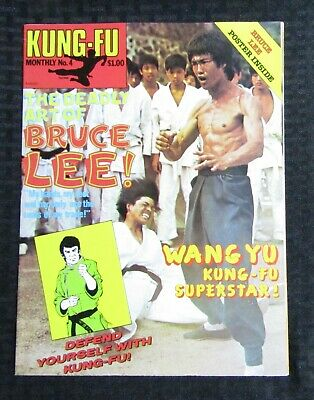 £14.67 • Buy 1970's KUNG-FU MONTHLY Poster Magazine #4 FVF 7.0 Bruce Lee The Deadly Art Of
