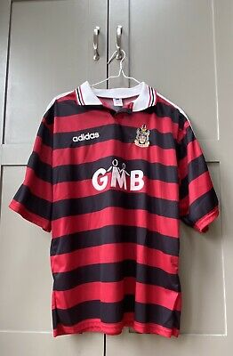 £100 • Buy Fulham FC Away Shirt 97/98-Manufactured By Adidas-Size Men's XL