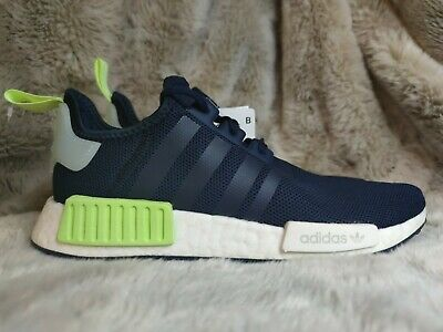 $ CDN27.41 • Buy Womens Adidas Originals NMD R1 Trainers In Navy Blue UK Size 6.5