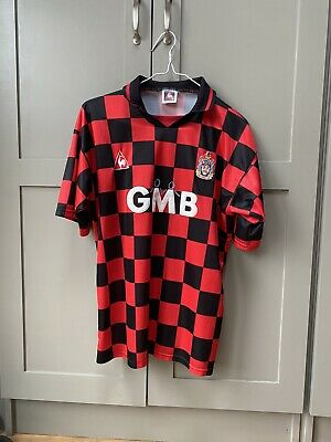 £100 • Buy Fulham FC Away Shirt 96/97-Manufactured By Le Coq Sportif-Size Men's L
