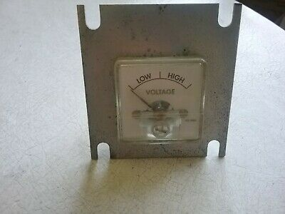 $10 • Buy Voltage Condition Meter Movement, FS = 1mA