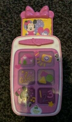 £0.99 • Buy Disney Baby Minnie Mouse Musical Phone Toy