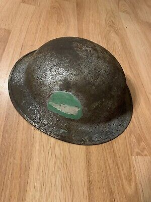 $75 • Buy WWI US Army M1917 Steel Doughboy Helmet 78th Div. Insignia Hand Painted