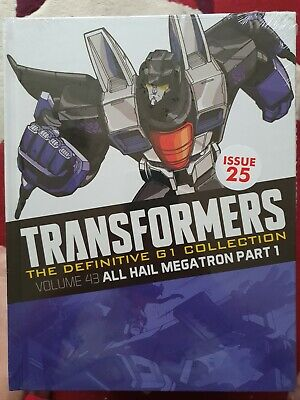 £5.60 • Buy Transformers The Definitive G1 Collection Volume 43 All Hail Megatron Part 1