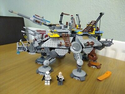 £70 • Buy Lego STAR WARS Set 75157 CAPTAIN REX'S AT-TE With 2 Minifigs Only
