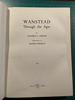 £24 • Buy Wansted Through The Ages Limited Edition East London Rare Copy