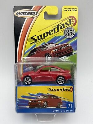 $13.59 • Buy Matchbox Superfast 35th Anniversary BMW 3 Series Red Number 71 FREE SHIPPING