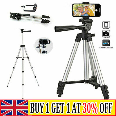 £8.68 • Buy Universal Tripod Stand Telescopic Camera Phone Holder For IPhone Samsung Sony