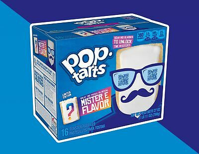 £9.99 • Buy Pop Tarts Limited Edition Mister E Flavour (16 Toaster Pastries) 768g