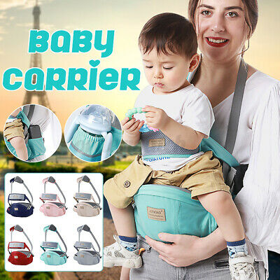 £11.29 • Buy Baby Carrier Hip Seat Waist Stool Walkers Toddler Belt Infant Baby Hipseat Ys