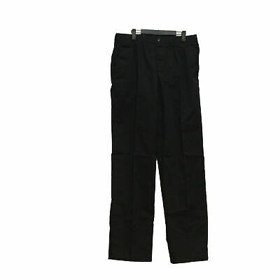 $23.74 • Buy Lands' End Men's Elastic Waist Pull-On Chino Pants Black Size 40 New