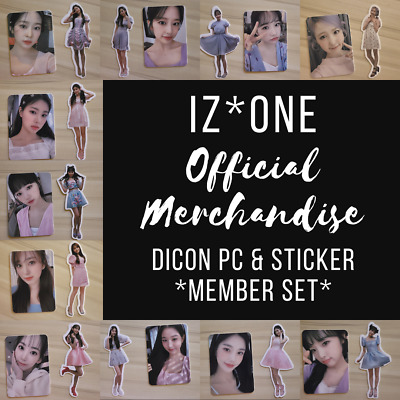 $ CDN10.07 • Buy Iz*one Dicon Shall We Dance Deluxe Photocards And Stickers Izone D*icon