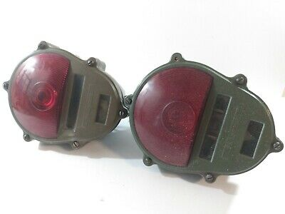 $46.54 • Buy Set Of 2 ACCO Military Tail Lights Asseblies 11614157  Used Ratrod Truck