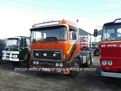 £0.99 • Buy Classic Truck Lorry Photo 6 X4  ERF Tractor Unit 14 B
