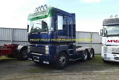 £0.99 • Buy Classic Truck Lorry Photo 6 X4  Renault Magnum Tractor Unit14 B