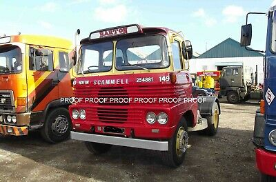 £0.99 • Buy Classic Truck Lorry Photo 6 X4  Scammell Tractor Unit 14 A
