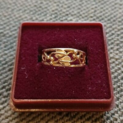 £195 • Buy Clogau 9 Ct Rose Gold  Tree Of Life' Ring. Size N 1/2