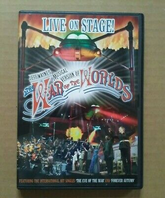 £4.99 • Buy Jeff Wayne's Musical Version Of The War Of The Worlds - Live On Stage (DVD)