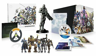 AU248.33 • Buy Overwatch Collectors Edition PC New Factory Sealed + Bonus Plate
