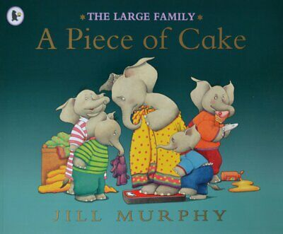 £2.99 • Buy The Large Family – A Piece Of Cake By Jill Murphy [Paperback]