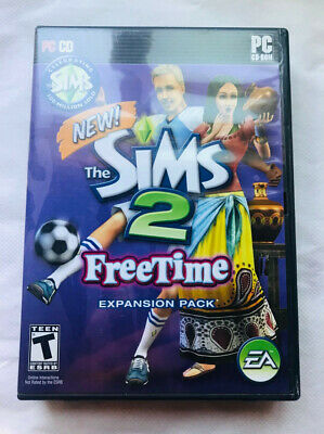 £12.35 • Buy The Sims 2 Freetime PC Game Windows Complete 2008 Expansion Pack